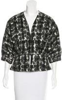 Zero Maria Cornejo Wool Patterned Jacket