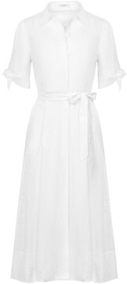 Equipment Irenne Tie-Waist Dress