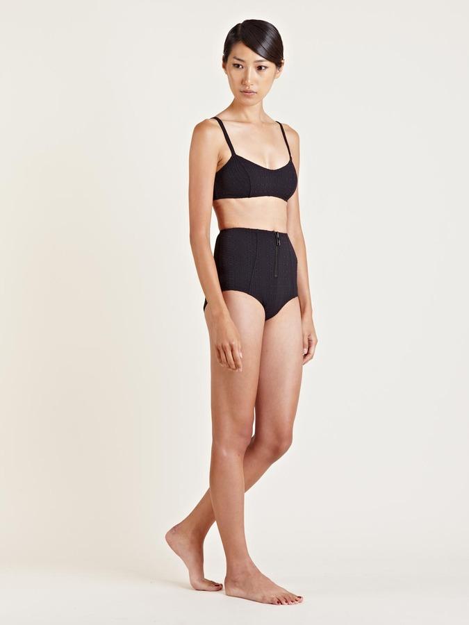 Lisa Marie Fernandez Women's Genevieve High Waisted Bikini