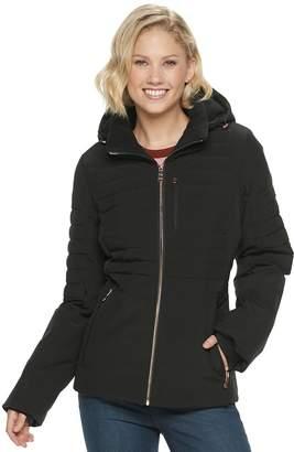 ZeroXposur Women's Quilted 4-way Stretch Heavy Puffer Jacket