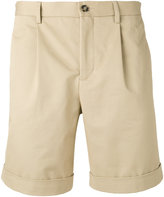 Éditions M.R - pleated shorts - men - Cotton - 46