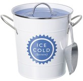 Parlane Ice Bucket with Scoop - White