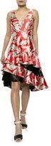 Sachin + Babi Margot Tiered Lace Dress
