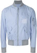 Kolor multi-pocket bomber - men - Cotton/Nylon - 2