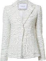 Derek Lam 10 Crosby striped blazer - women - Cotton/Acrylic/Viscose - 0