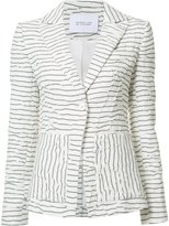 Derek Lam 10 Crosby striped blazer - women - Cotton/Acrylic/Viscose - 2