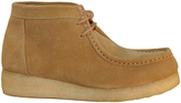 Roper Tan Suede Leather Moc-Toe Boot