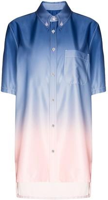 Sies Marjan Rooney ombre effect shirt