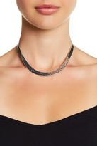 Argentovivo Textured U-Necklace