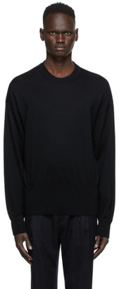 Wooyoungmi Black Logo Sweater