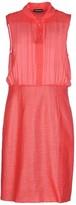 Emporio Armani Knee-length dresses - Item 34616939