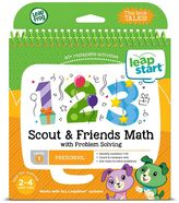 Leapfrog LeapStart Preschool Activity Book: Scout & Friends Math with Problem Solving