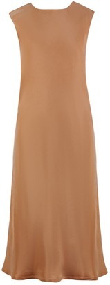 Flow Femme Dress In Terracotta