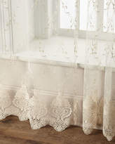 "Dian Austin Couture Home 60""W x 108""L Cameo Lace Curtain"
