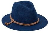 San Diego Hat Company Women's Woven Paper Fedora.