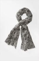 J. Jill Graphic print scarf