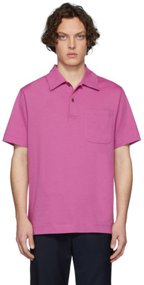 Dries Van Noten Pink Pocket Polo