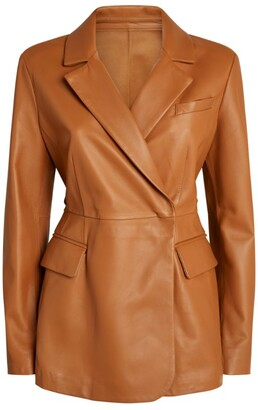 Sportmax Biella Leather Jacket