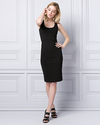 Le Château Ponte Scoop Neck Shift Dress