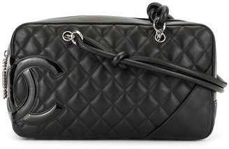 Chanel Pre Owned Cambon Line Quilted CC Shoulder Bag