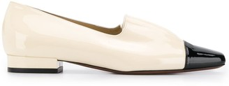 L'Autre Chose Ruched Flat Loafers
