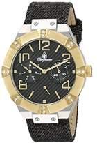 Burgmeister Women's BM611-922A Analog Display Quartz Black Watch