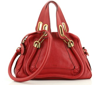Chloé Paraty Top Handle Bag Leather Small