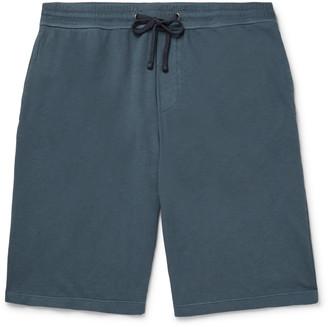 James Perse Loopback Supima Cotton-Jersey Drawstring Shorts