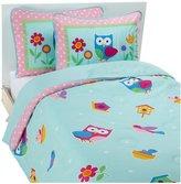 Olive Kids Birdie Comforter Set - Pink-Full