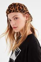 Urban Outfitters Leopard Cabbie Hat