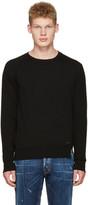 DSQUARED2 Black Wool Sweater