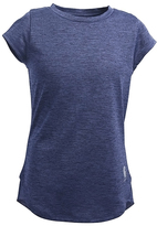 Carhartt Navy Heather Force Cap-Sleeve Tee - Girls