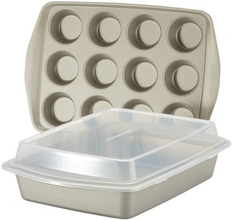Rachael Ray 3-pc. Nonstick Bakeware Set