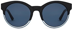 Christian Dior Women's Sideral 1 Mirrored Round Sunglasses, 53mm