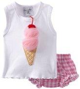 Mud Pie Tiny Dancer Ice Cream Tank And Bloomer Set