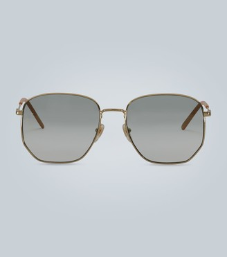 Gucci Hexagonal frame sunglasses
