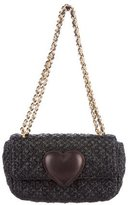 Moschino Cheap & Chic Moschino Cheap and Chic Woven Heart-Embellished Bag