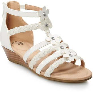 So Arlie Girls' Wedge Sandals