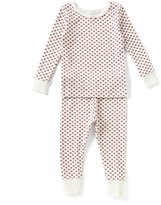 Starting Out Little Girls 2T-4T Heart-Print Top & Pants Pajama Set