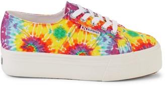 Superga Tie-Dye Flatform Sneakers