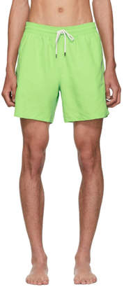 Polo Ralph Lauren Green Traveler Swim Shorts