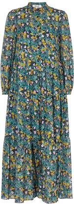 Diane von Furstenberg Nea floral-print cotton-blend dress