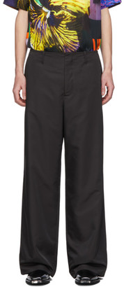 Our Legacy Black Bedsheet Chino Trousers
