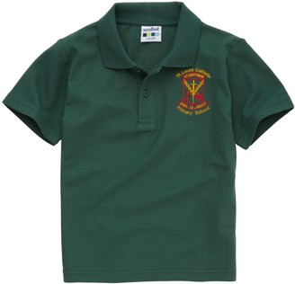 Unbranded St Louis Primary School Boys' Summer Polo Shirt, Green