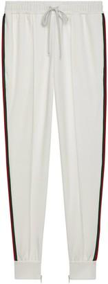 Gucci Piquet jersey pant