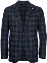 Tagliatore two-button tweed blazer - men - Cotton/Wool - 44