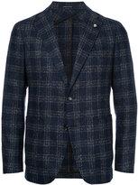 Tagliatore two-button tweed blazer