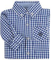 Andy & Evan Boys 2-7 Gingham Button-Down Shirt