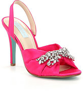 Betsey Johnson Blue by Briel Jeweled Dress Sandals