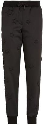 Dolce & Gabbana Logo Star Embossed Sweatpants